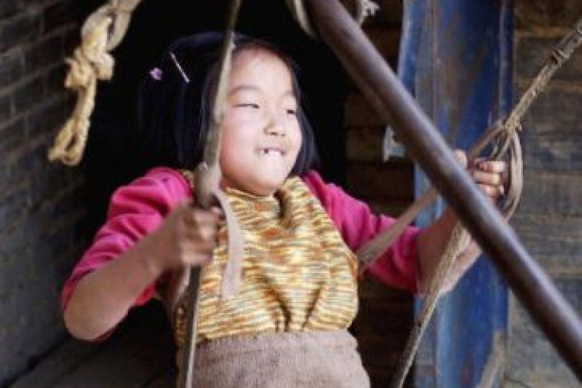 Pues la pequeña Qian comenzó a enfocarse en natación y ha ganado varias medallas de oro en China. Foto:Getty Images. Imagen Por: