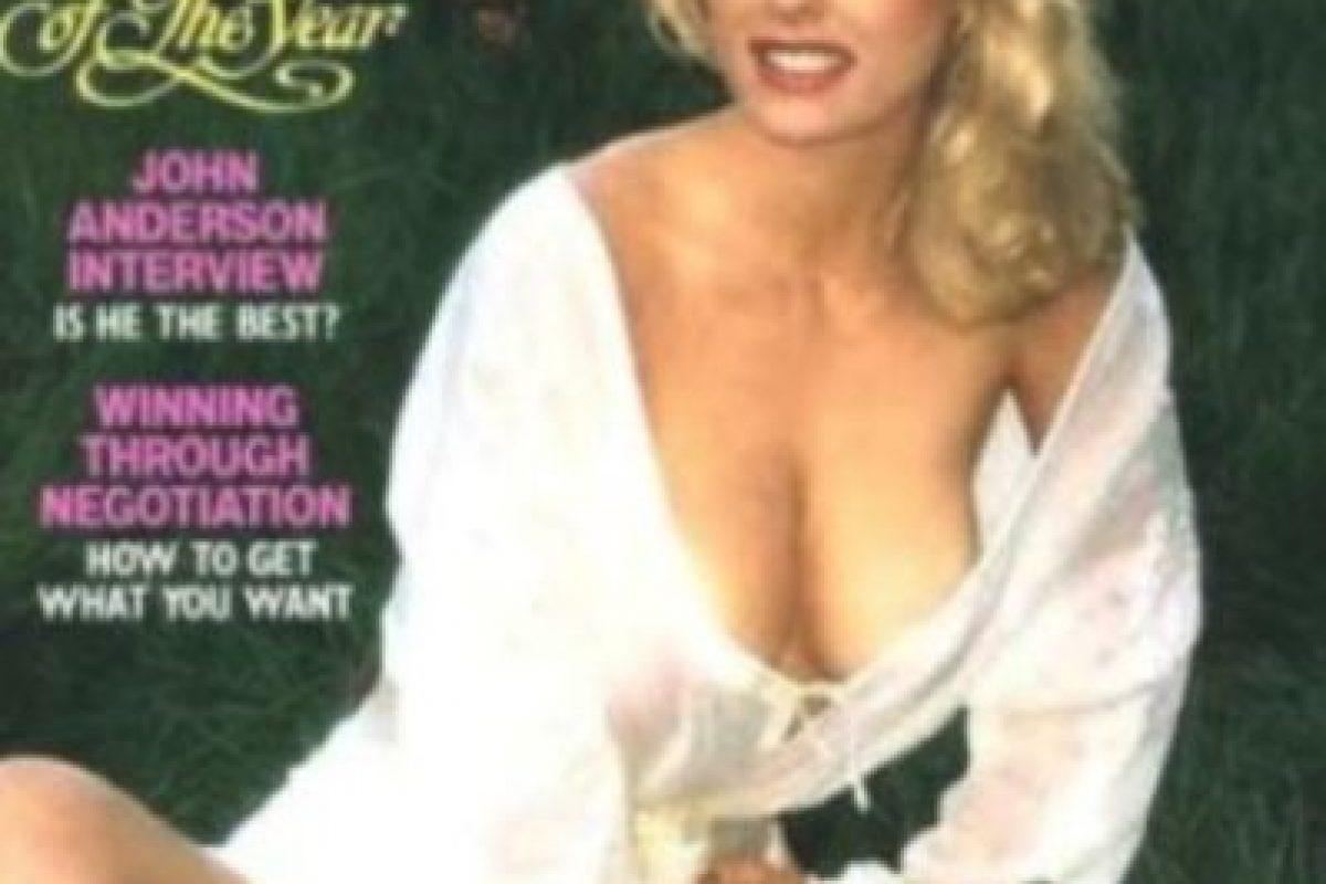 """Dorothy Stratten. En 1980, la modelo de """"Playboy"""" murió después de ser asesinada por su esposo. Tras su pérdida, Hugh Hefner, editor de esta revista para caballeros, dedicó un número para homenajear la memoria de Stratten Foto:Playboy. Imagen Por:"""