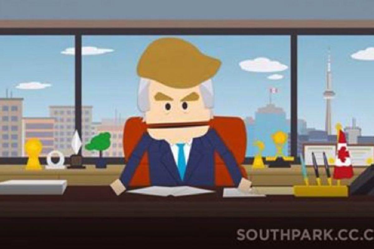 Es el precandidato más apoyado del Partido Republicano. Foto:Captura de pantalla Comedy Central. Imagen Por: