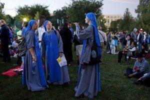 Al igual que personas religiosas Foto:AP. Imagen Por: