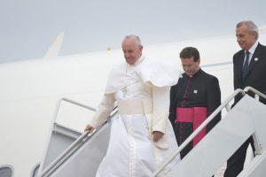 El pontífice llegó a Estados Unidos el martes 22 de septiembre. Foto:AFP. Imagen Por: