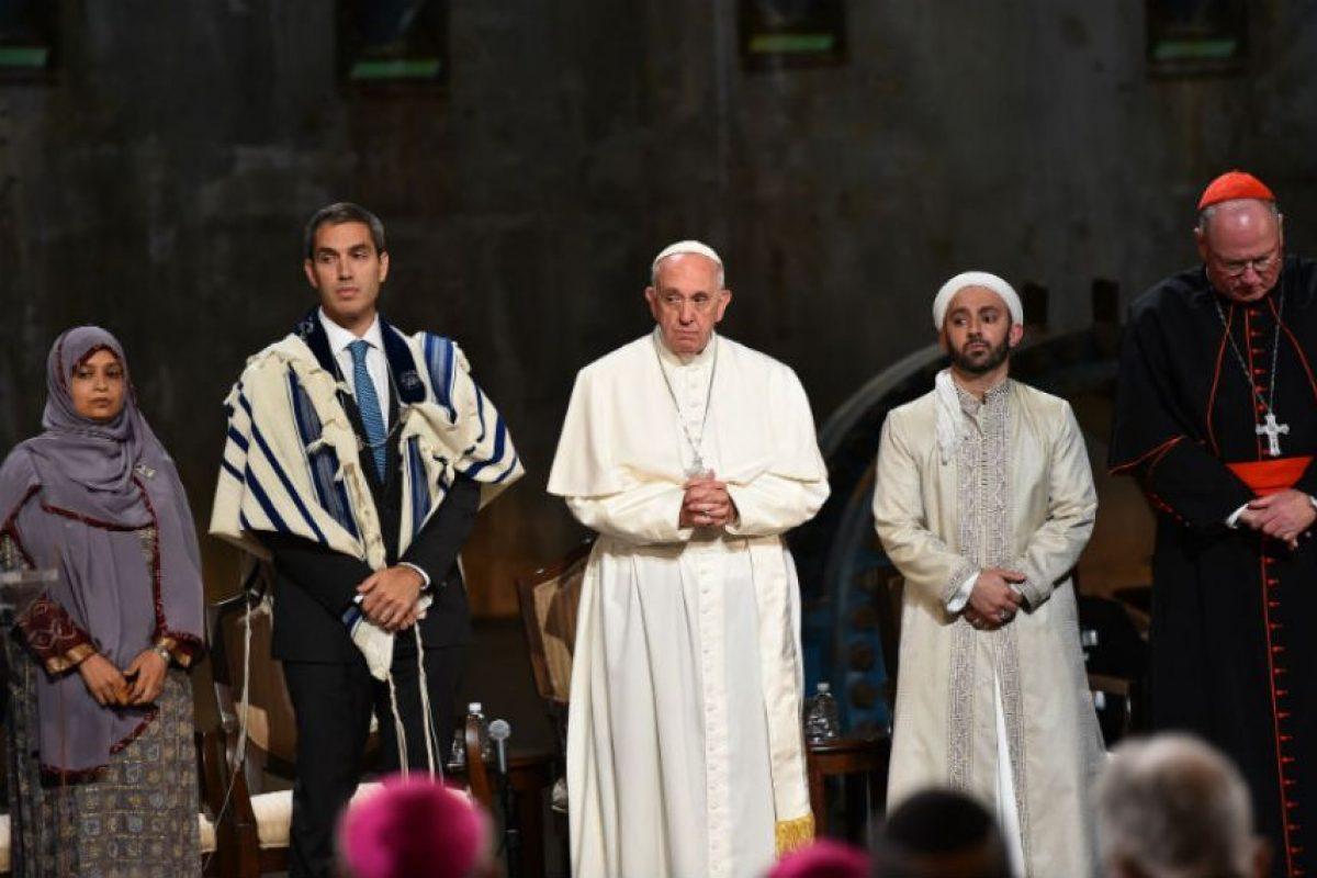 El papa le deseo a todos Paz Foto:AFP. Imagen Por: