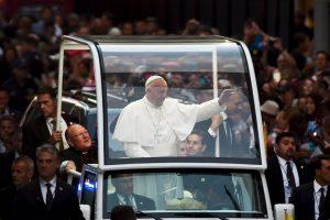 Su llegada al país Foto:AFP. Imagen Por: