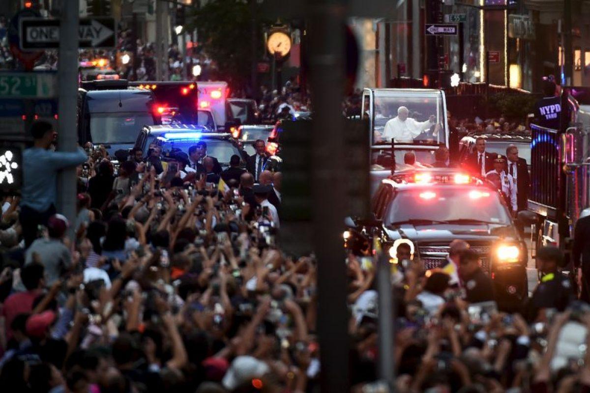 Las calles lucieron abarrotadas Foto:AFP. Imagen Por: