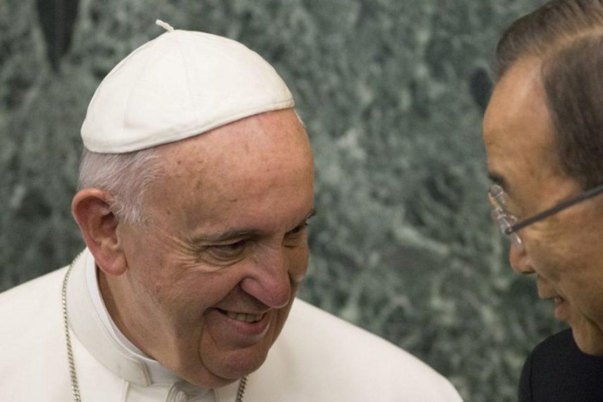 """También mencionó el """"Derecho al ambiente"""" Foto:AFP. Imagen Por:"""