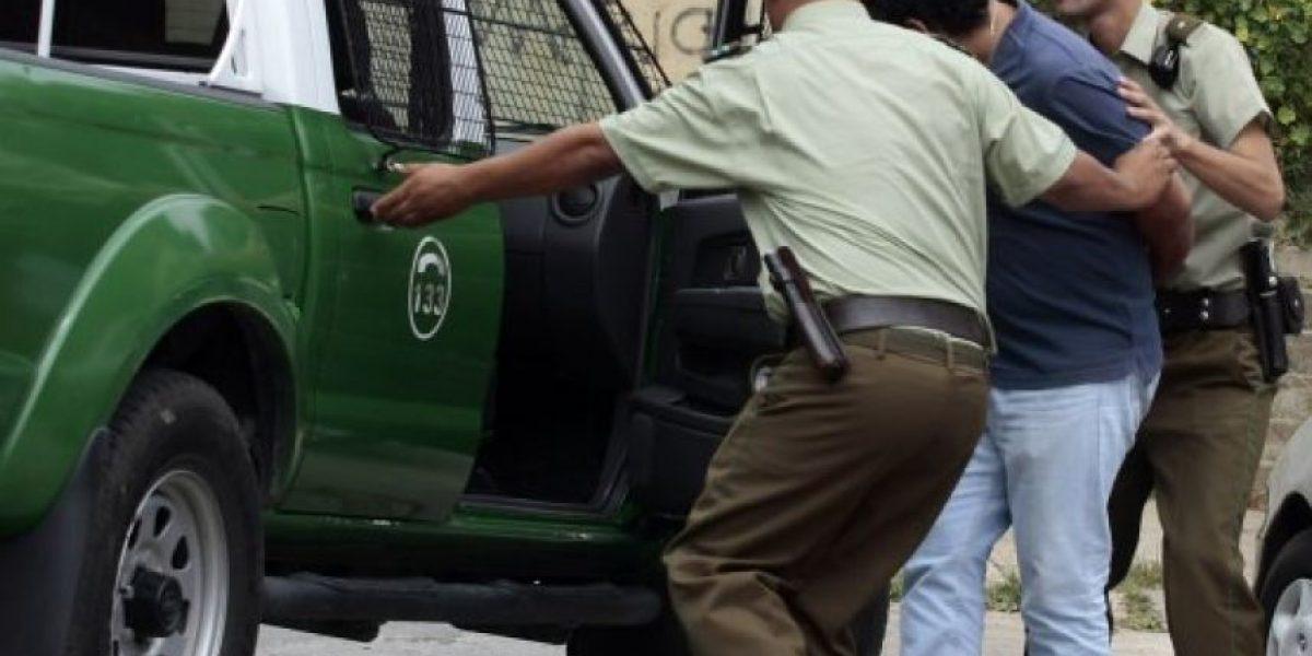 Maipú: balacera y persecución policial deja cuatro detenidos