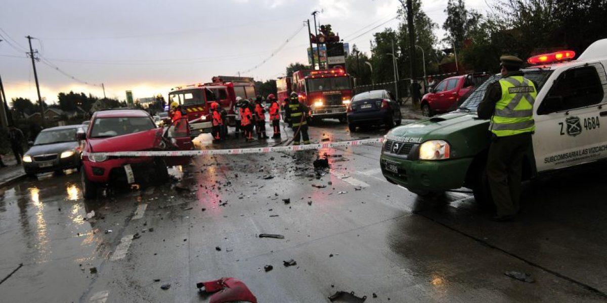 Una víctima fatal y gran congestión dejó accidente en San José de Maipo