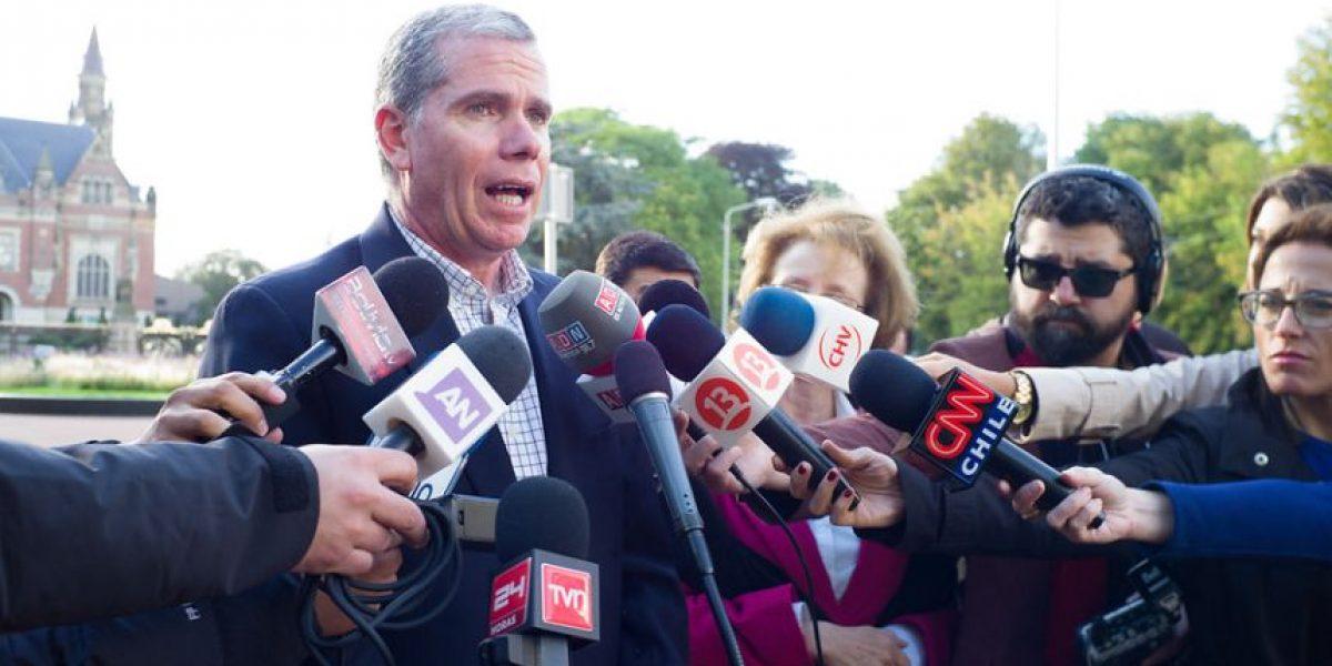 Tensión en el oficialismo: quieren cambiar agente chileno ante La Haya