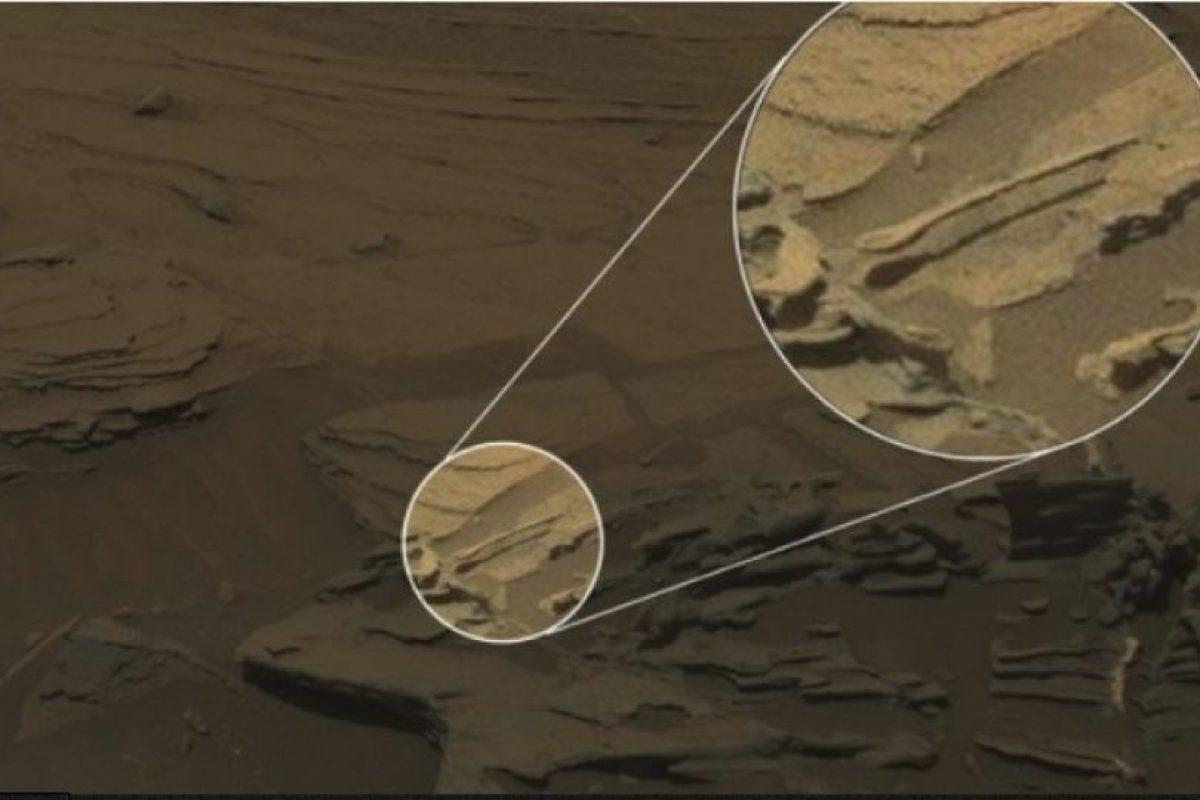 """Descubren una """"cuchara flotante"""" en Marte Foto:NASA. Imagen Por:"""