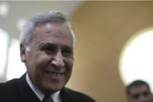 Fue primer ministro de Israel entre el año 2000 y 2007, año en que renunció tras una serie de denuncias de acoso sexual y una violación Foto:Getty Images. Imagen Por: