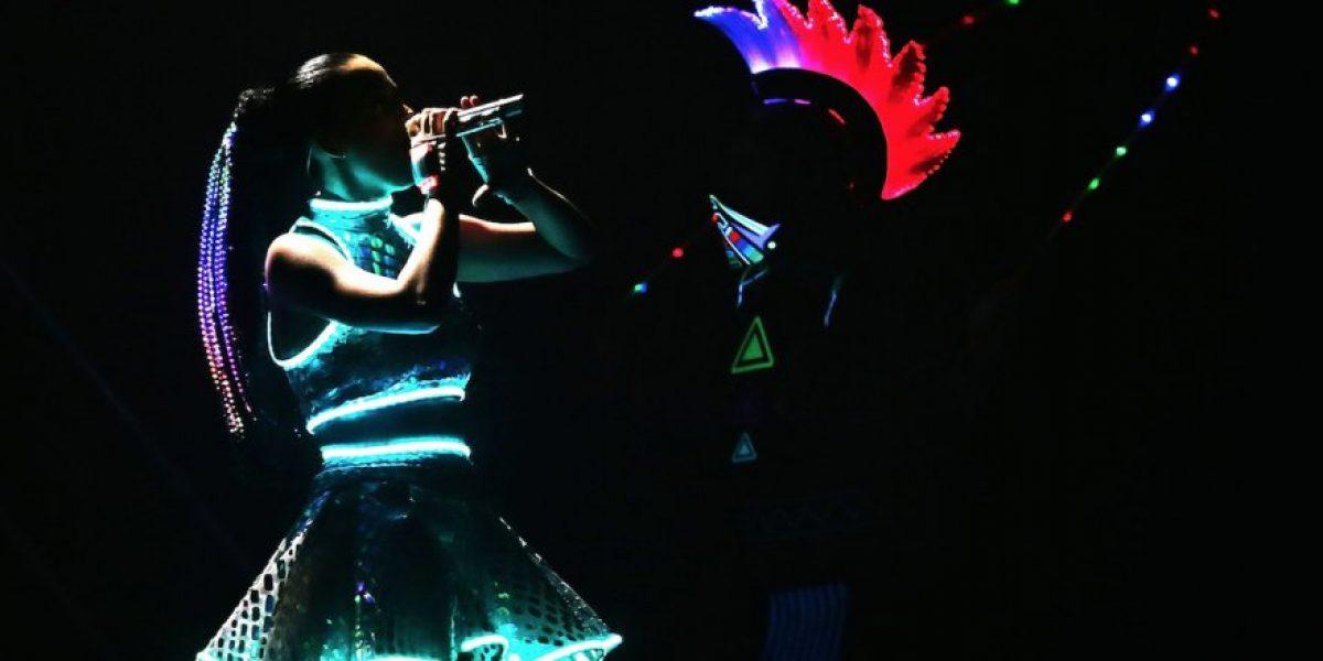Video: Miren qué hizo Katy Perry tras sentirse