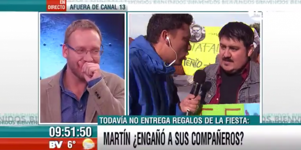 ¡Martín Cárcamo enfrenta acusación por deuda!