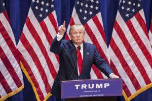 Se espera que Trump sea uno de le los personajes más imitados para Halloween. Foto:Getty Images. Imagen Por: