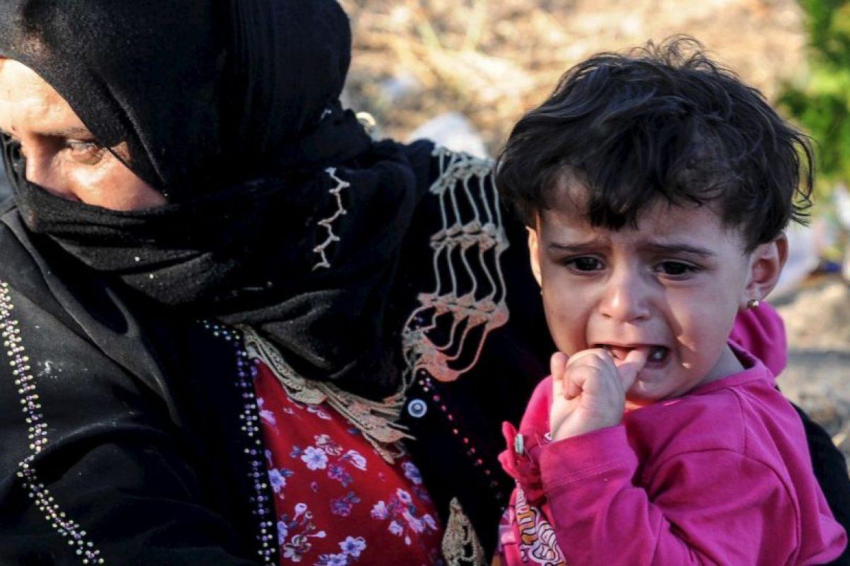 2 millones de niños que viven ahora como refugiados en Líbano, Jordania, Irak, Turquía, Egipto y otros países del norte de África. Foto:Getty Images. Imagen Por: