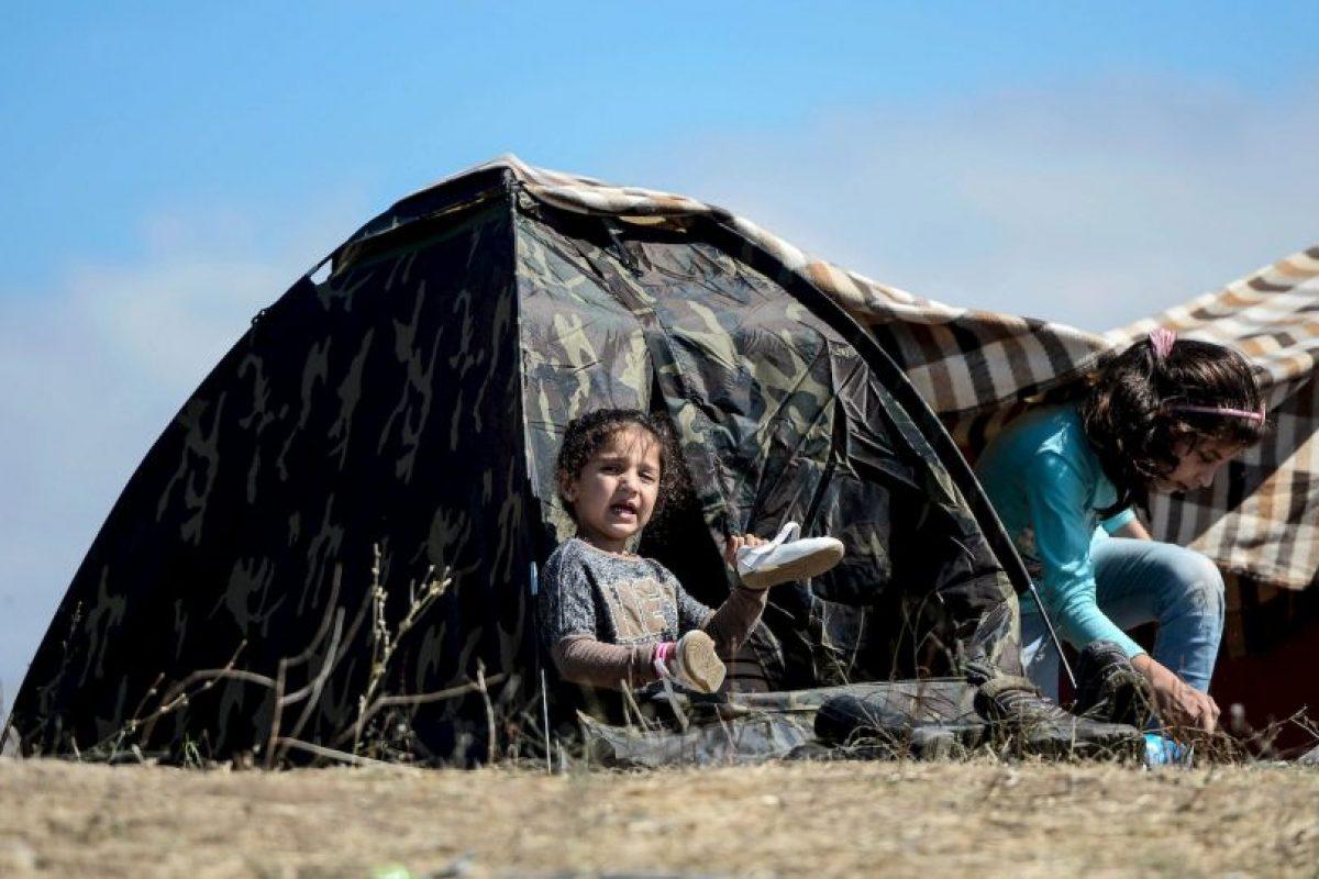 2.8 millones de niños iraquíes obligados a abandonar sus hogares, muchos de los cuales se encuentran atrapados en las zonas controladas por los grupos armados. Foto:Getty Images. Imagen Por: