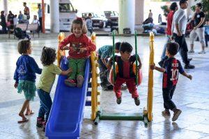 El 80% de los migrantes está huyendo de la guerra de Siria y una cuarta parte del total son niños Foto:Getty Images. Imagen Por: