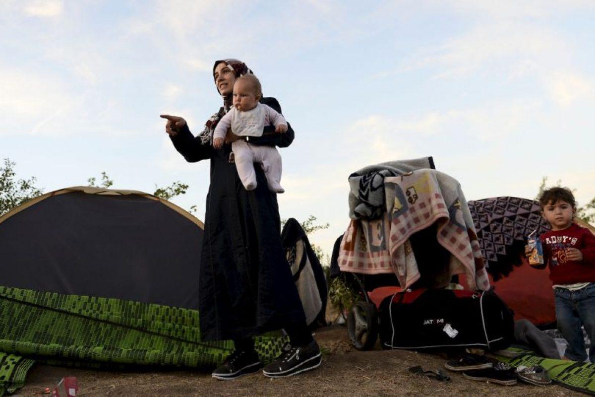 Algunos países, como Macedonia, reciben entre mil y dos mil migrantes al día Foto:Getty Images. Imagen Por: