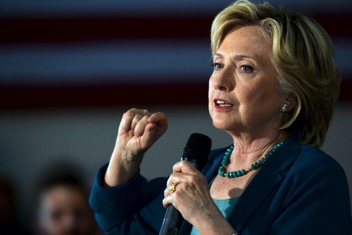 La candidata asegura que se sorprende de que las mujeres no se digan feministas. Foto:Getty Images. Imagen Por: