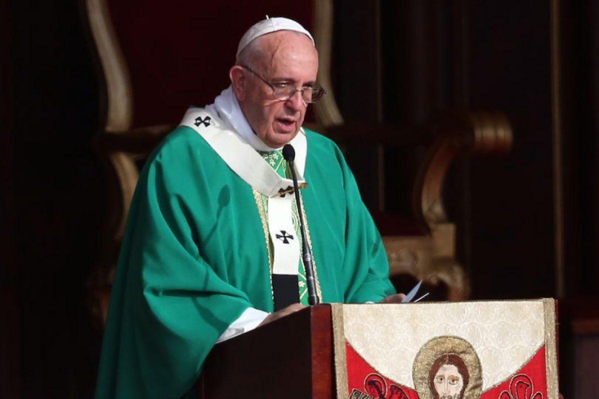 El papa Francisco pasó por Washington, ahora está en Nueva York e irá a Filadelfia. Foto:Getty Images. Imagen Por: