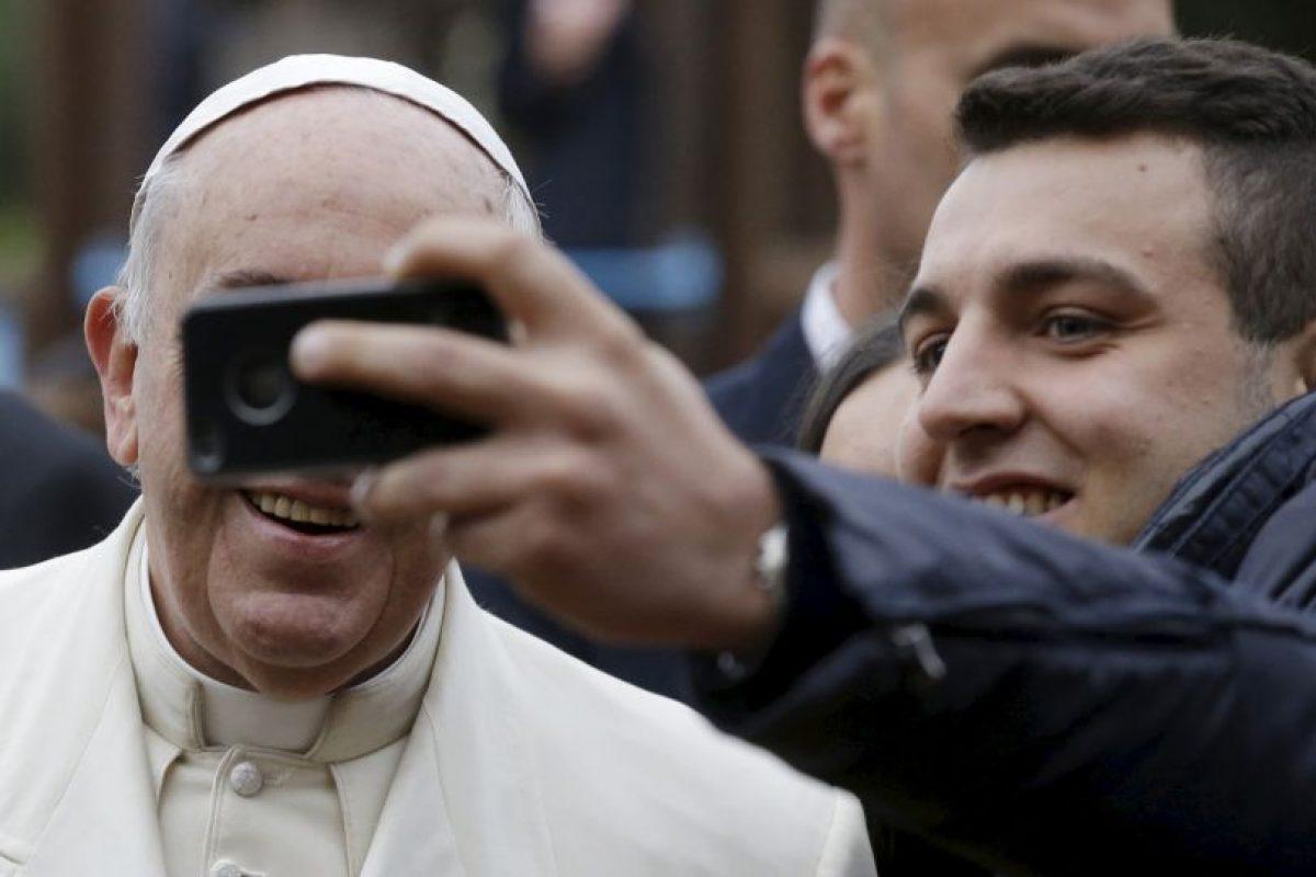 Y también participó en las selfies Foto:AP. Imagen Por: