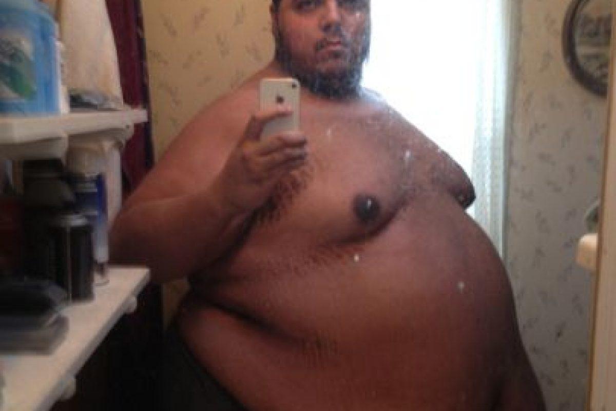 Jesse Stone pesaba 317 kilogramos. No se podía ni mover. A sus 26 años se dio cuenta de que tocó fondo. Foto:vía Jesse Shand. Imagen Por:
