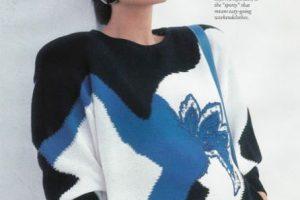 105 suéters. Foto:vía Escada. Imagen Por: