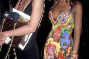 Pero Versace lo hizo antes. Foto:vía Vogue. Imagen Por: