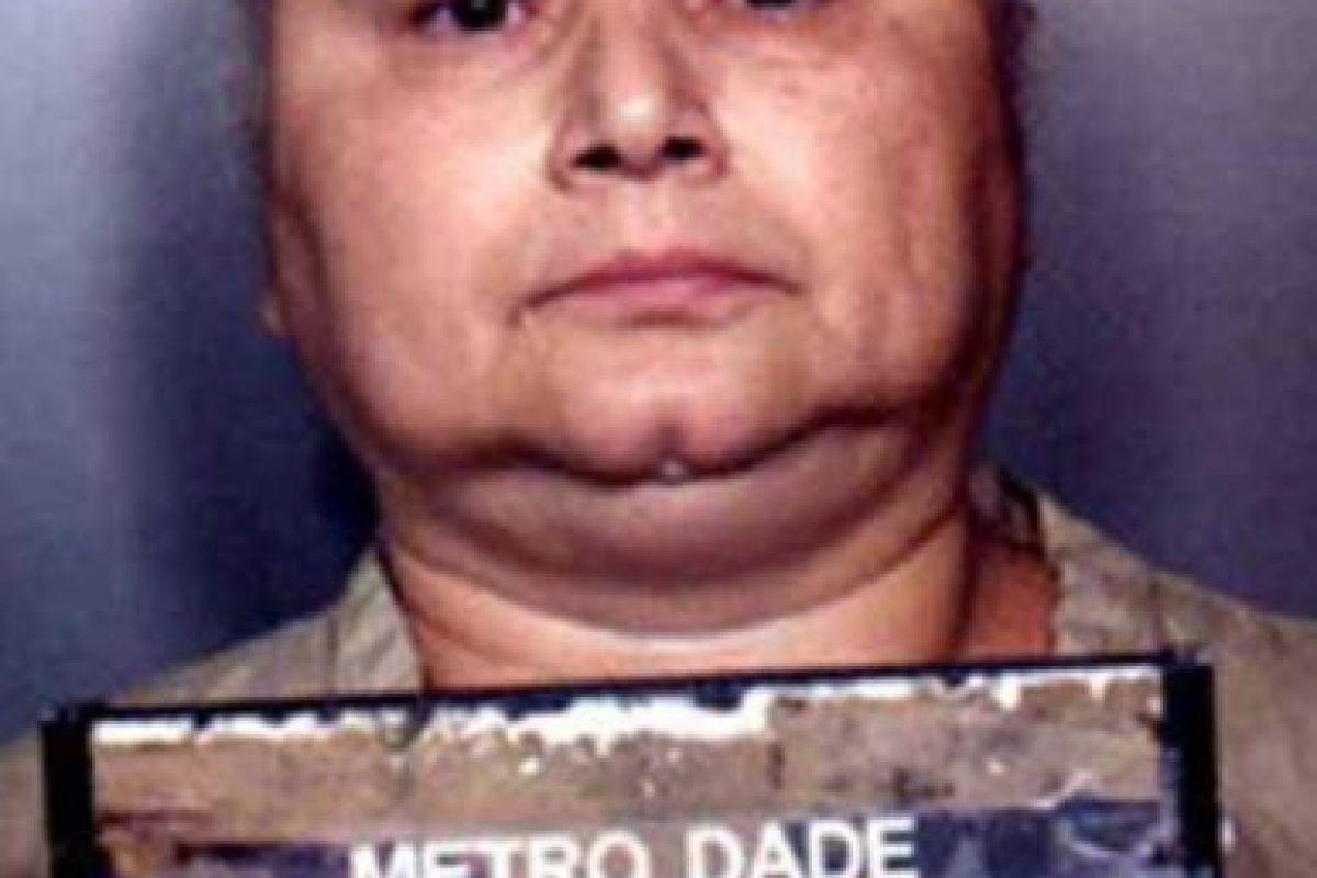 Mató su primera víctima a sus 11 años. Mató a sus maridos. Eliminó a sus rivales y murió de dos balazos en la cabeza en 2012. Foto:vía Metro Dade Police Sheriff. Imagen Por: