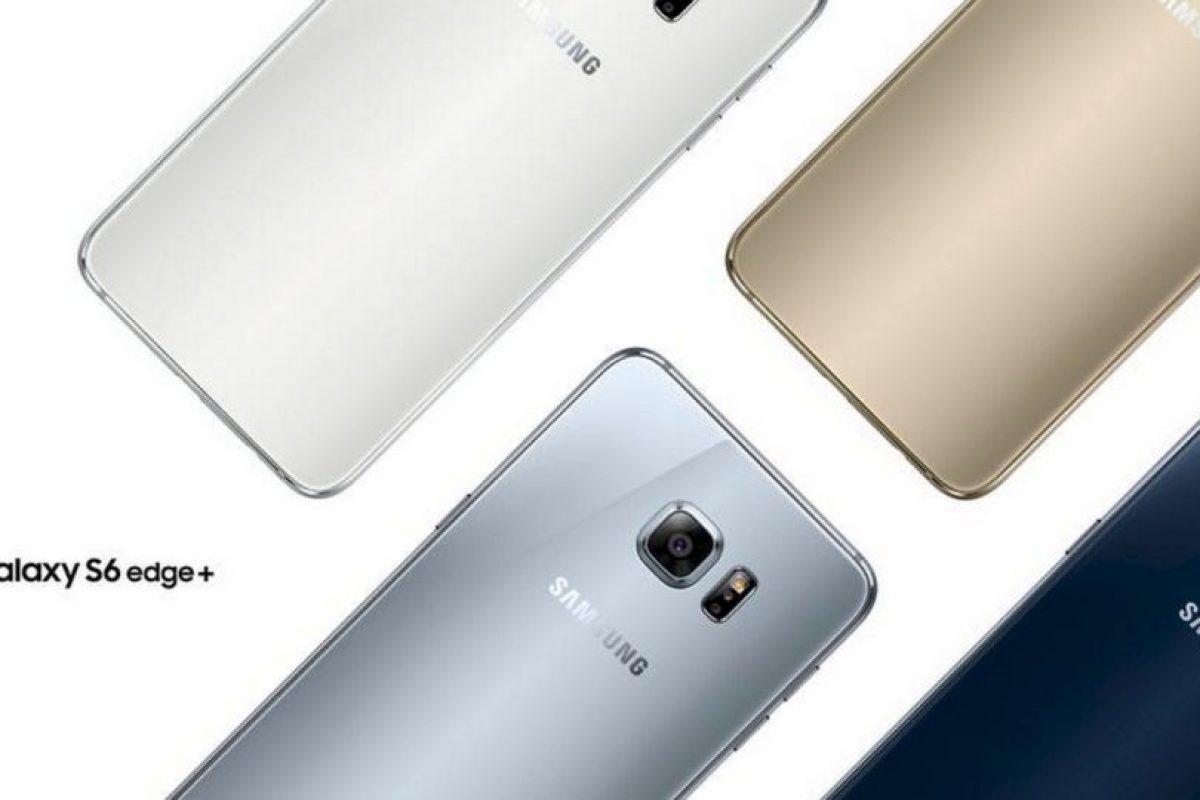 Mezcla de cristal y metal en su diseño. Disponible en colores blanco, gris, dorado y azul Foto:Samsung. Imagen Por: