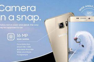 16 MP cámara trasera y 5 en la delantera, Real Time HDR Foto:Samsung. Imagen Por: