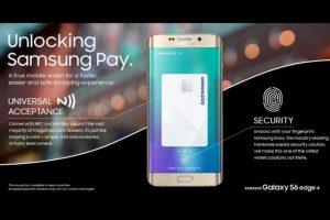 Samsung Pay universal, mejoras en la seguridad del sensor dactilar Foto:Samsung. Imagen Por: