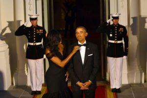 Parecía que ambos se preparaban para ir al baile de graduación. Foto:AFP. Imagen Por: