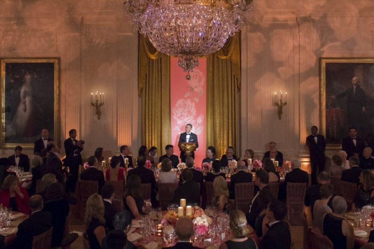 En los invitados se incluyeron funcionarios internacionales y algunas personalidades de Hollywood Foto:AFP. Imagen Por: