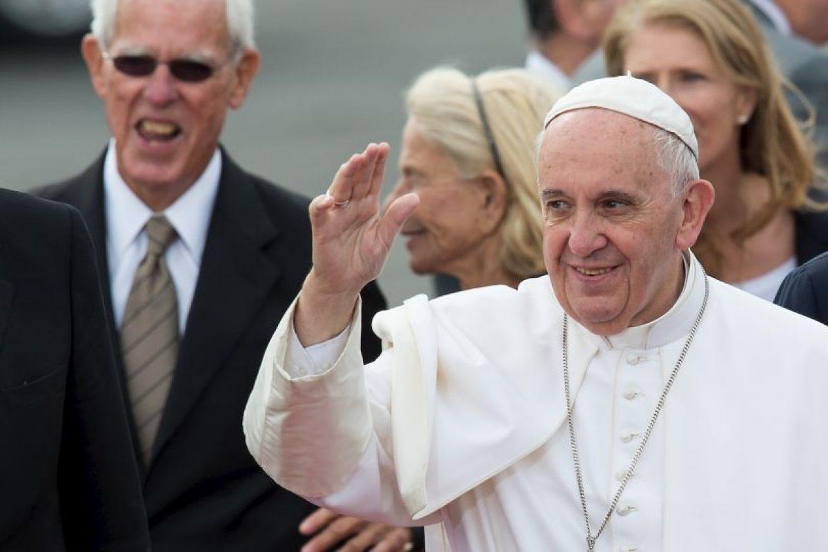 El Papa tiene una agenda ajetreada para estos dos últimos días en Estados Unidos. Foto:AFP. Imagen Por: