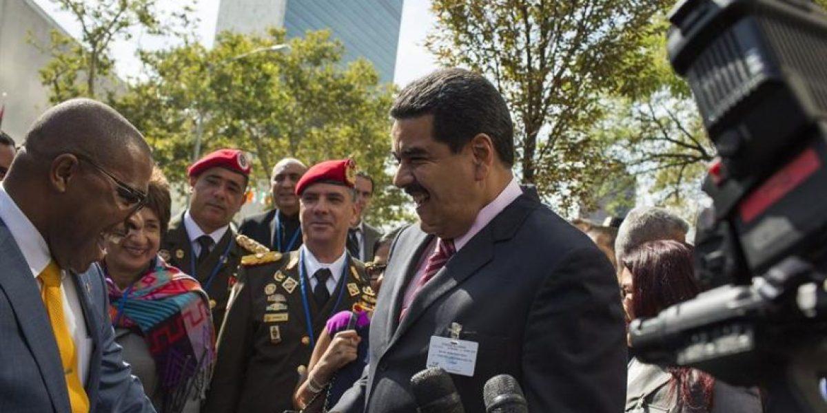 Nicolás Maduro se reunió en Nueva  York con el canciller de Rusia