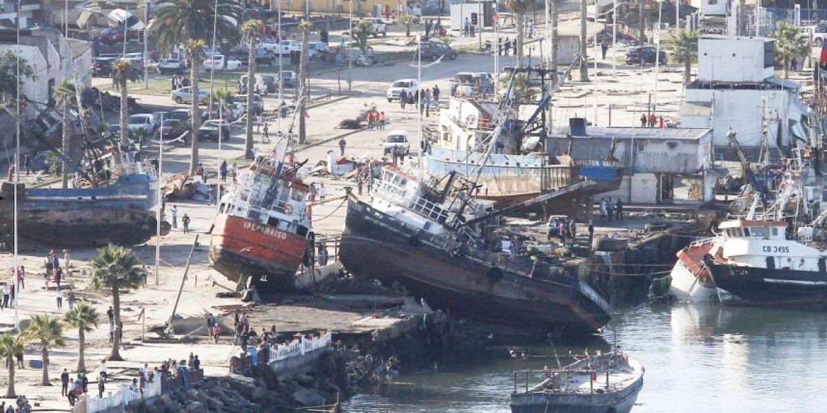 Terremoto en Chile: reabren costanera de Coquimbo tras daños por tsunami