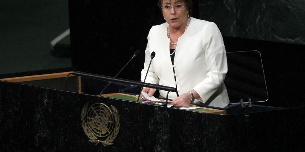 Bachelet asegura que nueva agenda de desarrollo