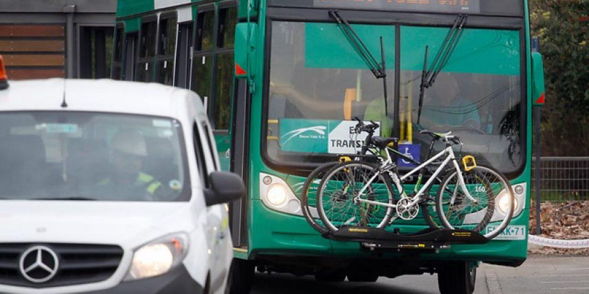 Bici-bus: la innovadora idea que buscan implementar en el Transantiago