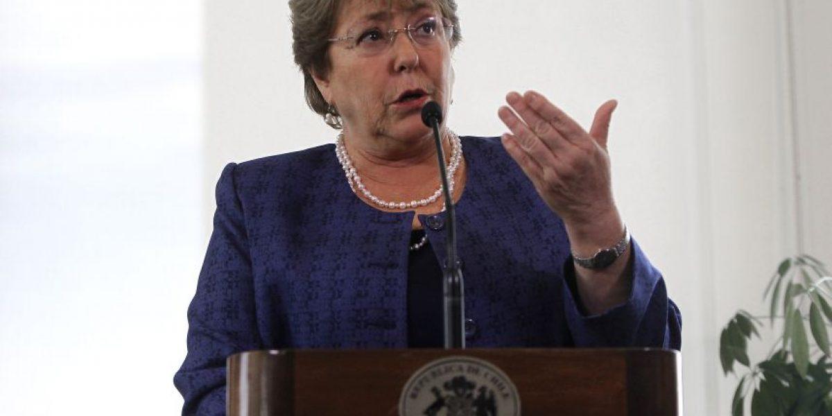 """Bachelet: """"El fallo de La Haya no pone en riesgo la integridad territorial de Chile"""""""