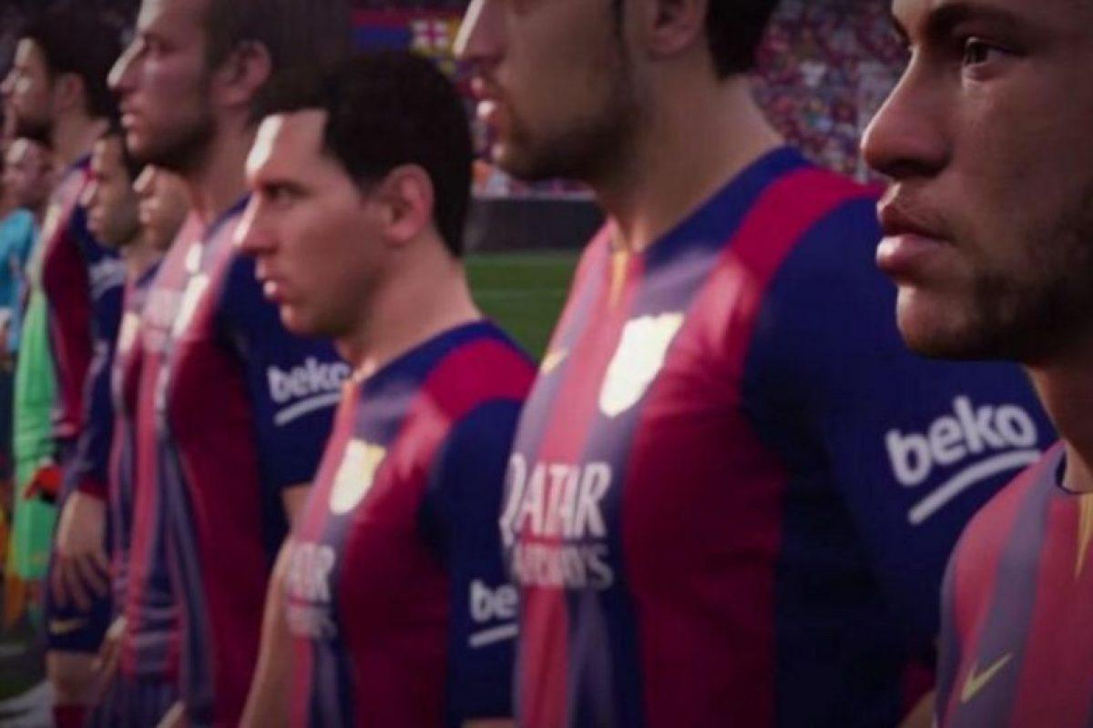 Como Messi en su mejor momento, pueden pasar el balón y crearse espacios para burlar a la defensa y recibir el esférico para anotar el gol de la victoria. Foto:EA Sports. Imagen Por: