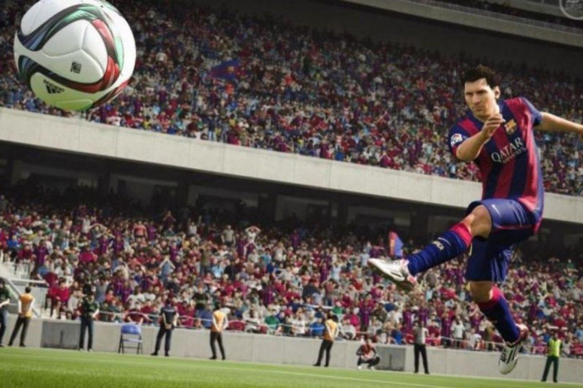 Ya no deberán volar el balón debido a que la colocación del pie y el tobillo de los futbolistas permiten un mejor golpeo del balón con potencia y precisión. Foto:EA Sports. Imagen Por: