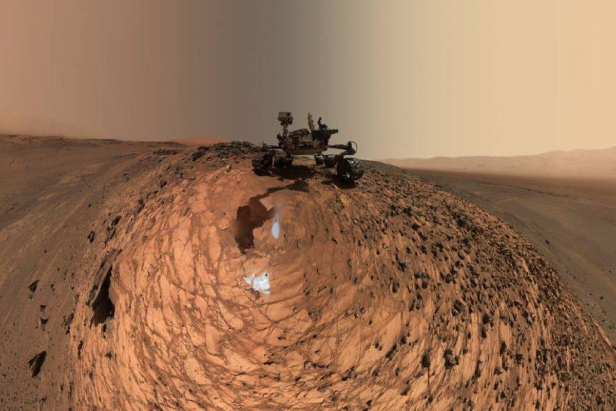 Marte es el cuarto planeta del Sistema Solar más cercano al Sol. Foto:Vía nasa.gov. Imagen Por: