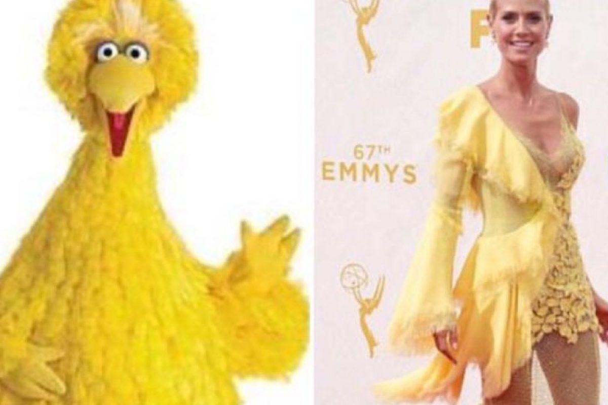 Heidi Klum sin duda es la ganadora esta semana. Foto:vía Getty Images. Imagen Por: