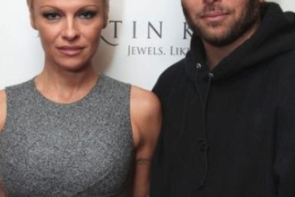 Pamela Anderson y Rick Salomon Foto:Getty Images. Imagen Por: