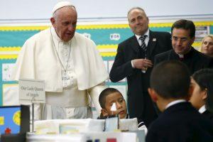 En la escuela Nuestra Señora Reina de los Ángeles Foto:AP. Imagen Por: