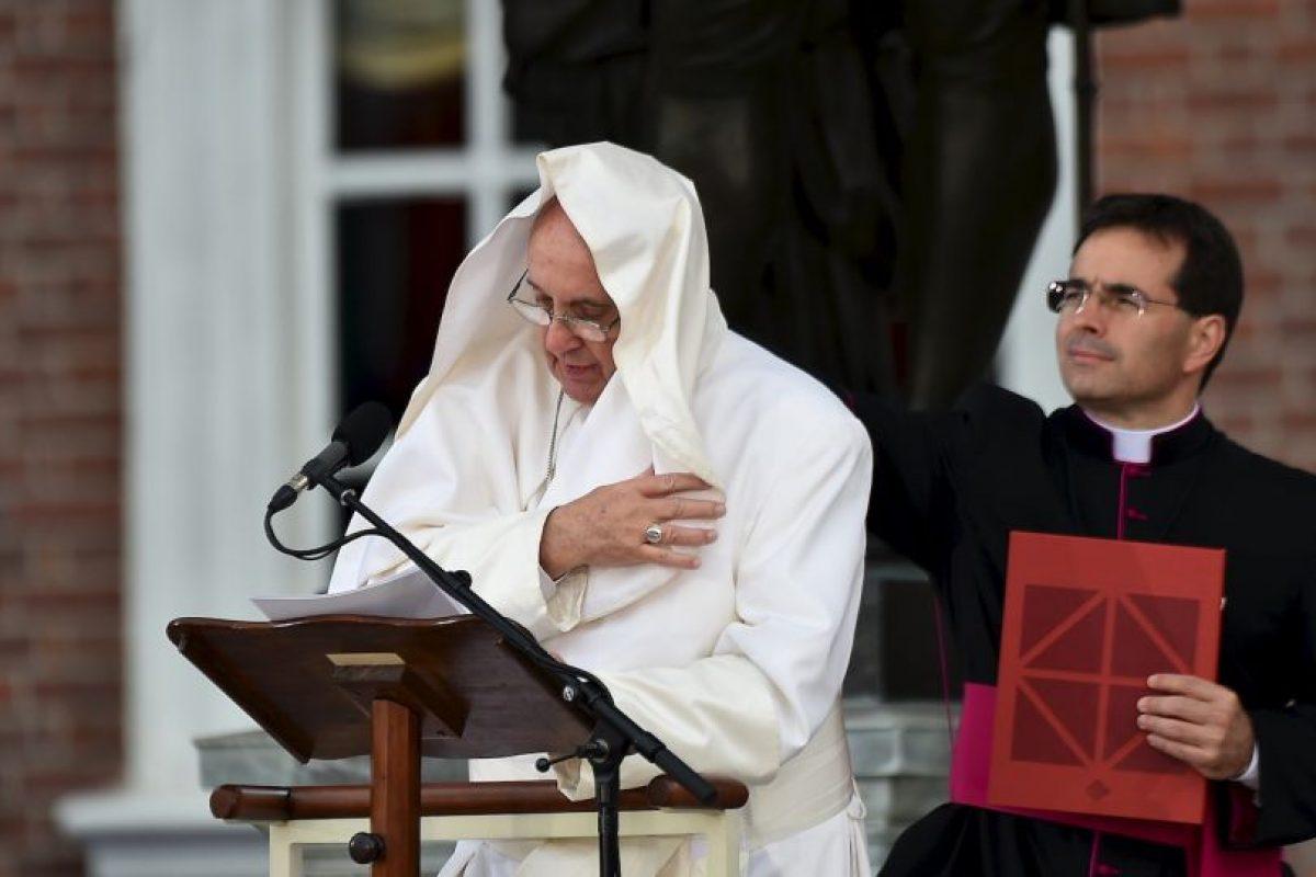 Y efectivamente… Foto:AFP. Imagen Por: