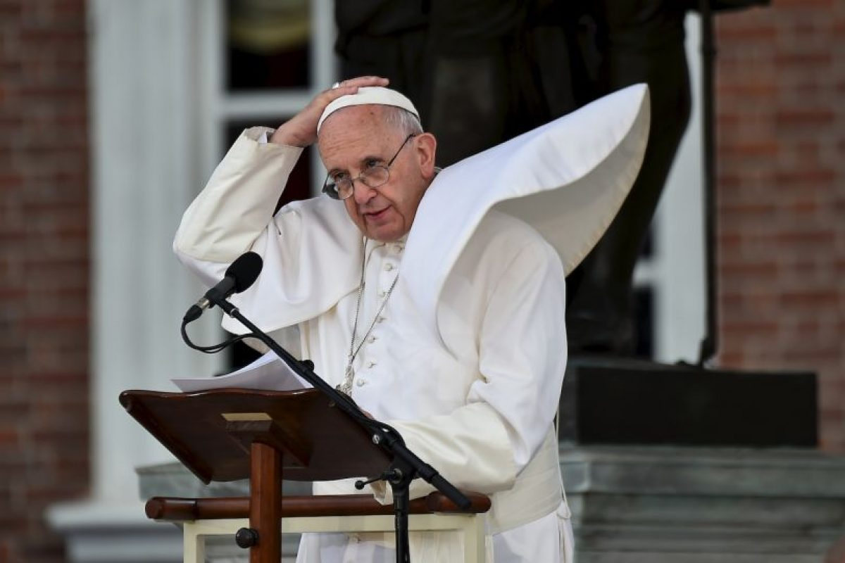 El Papa siempre tata de guardar la paciencia… Foto:AFP. Imagen Por: