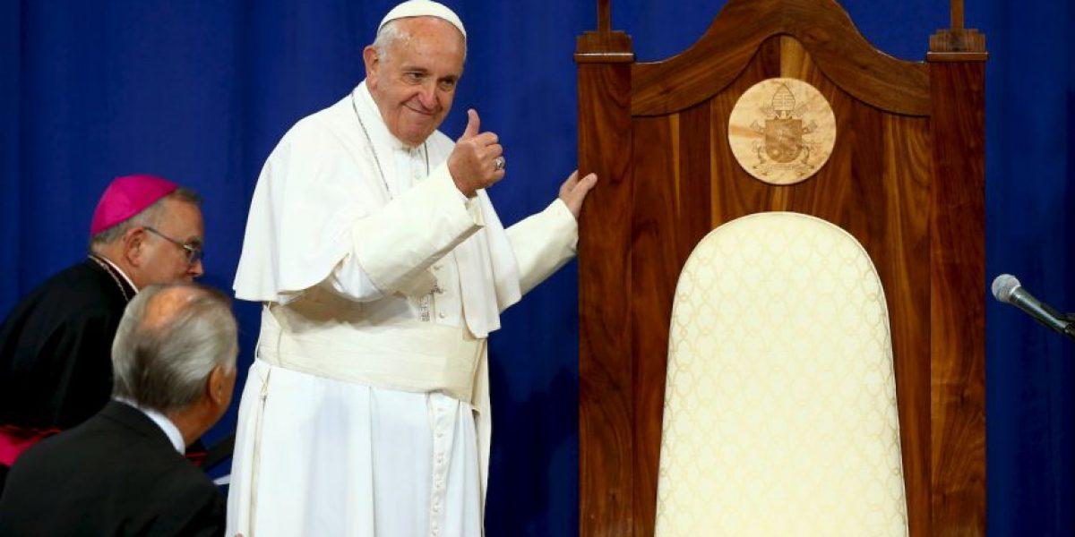 La visita del papa Francisco a una prisión en Filadelfia