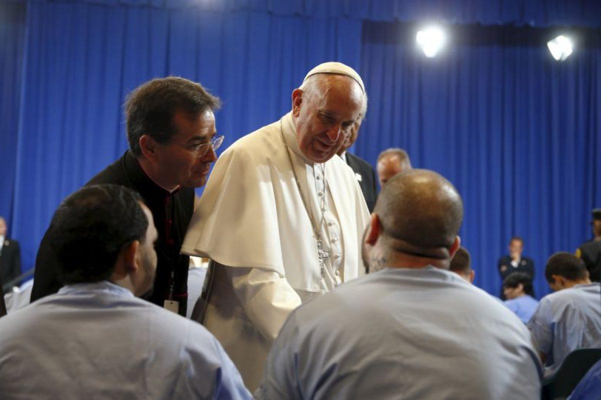 Unos cuantos cruzaron palabras con él. Foto:AFP. Imagen Por: