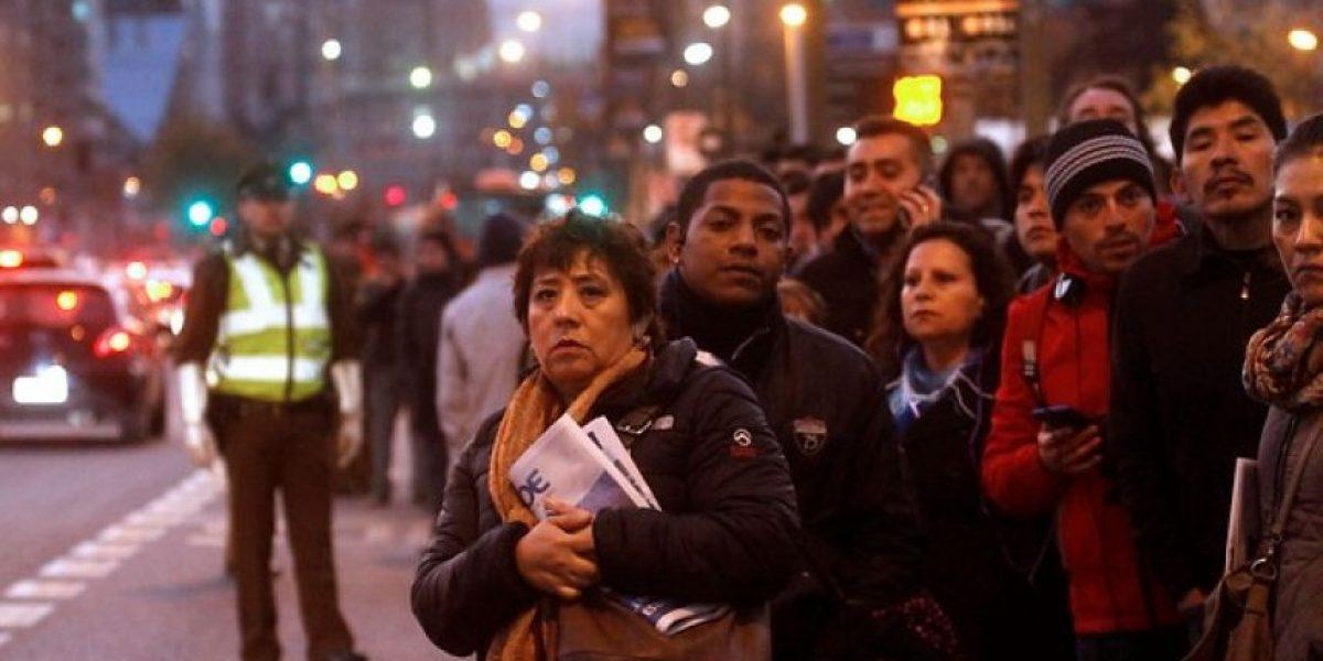 Preparan plan de contingencia por huelga de trabajadores del Transantiago